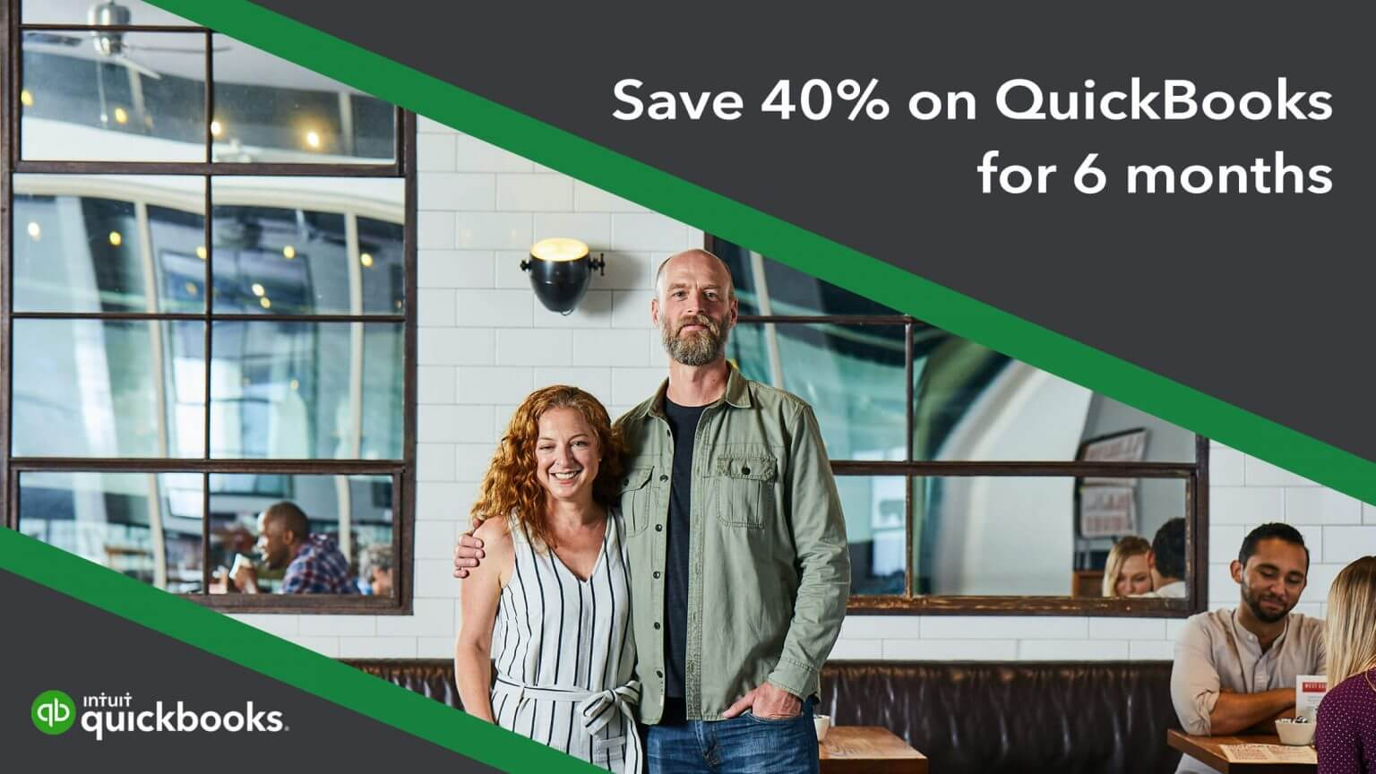 QuickBooks Deal - Save 40% for the first 6 Months